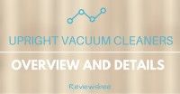 upright vacuum cleaners overview