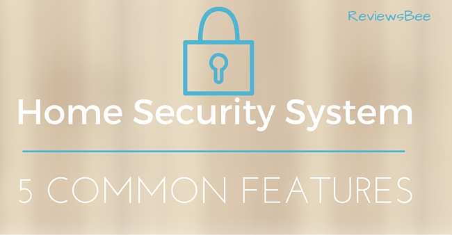 home security system features