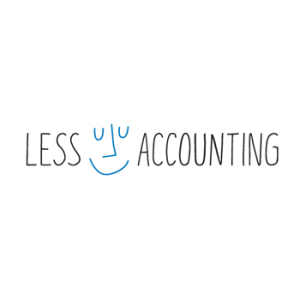Less Accounting logo