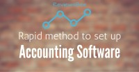 set up accounting software